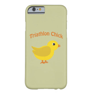 Cute Triathlon Chick Barely There iPhone 6 Case