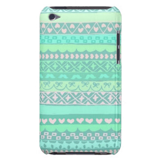 Cute Tribal Themed iPod Touch 4th Generation Case Barely There iPod Covers