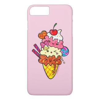 Cute Triple Scoop Neapolitan Ice Cream iPhone 7 Plus Case