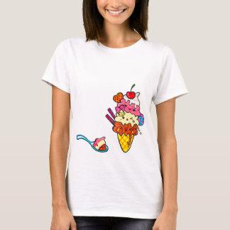 Cute Triple Scoop Neapolitan Ice Cream T-Shirt