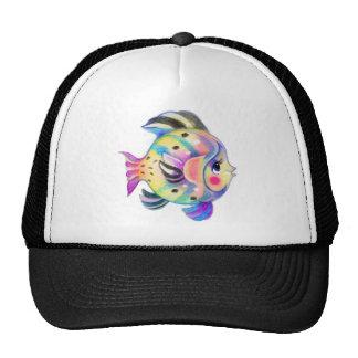 Cute Tropical Fishie Kawaii Trucker Hats