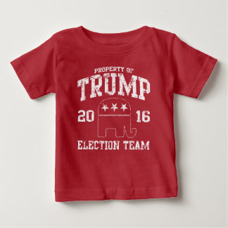 Cute Trump 2016 Republican Election Team Baby T-Shirt