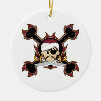 Cute Turban Pirate Ornament