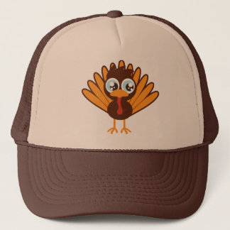Cute Turkey Trucker Hat