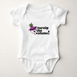 Cute! Turnip the Volume Baby Bodysuit