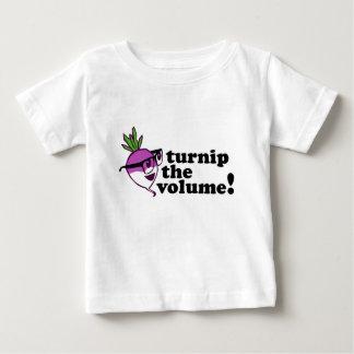 Cute! Turnip the Volume Baby T-Shirt