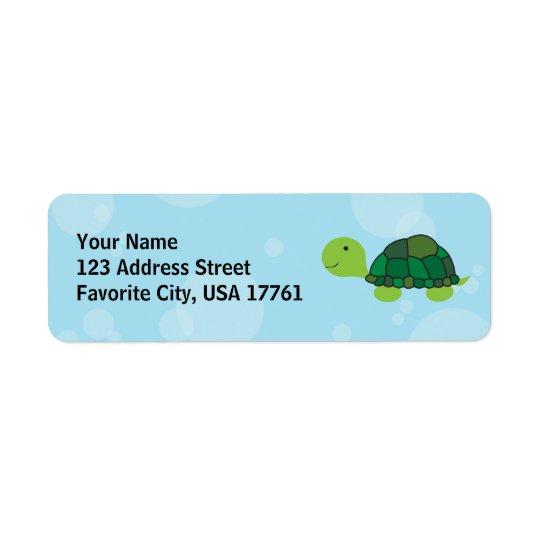 Cute Turtle Address Labels