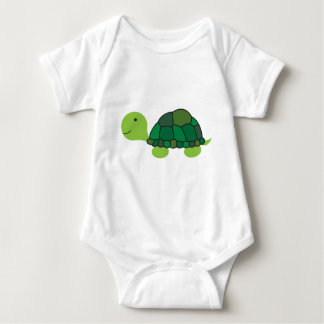 Cute Turtle Baby Bodysuit