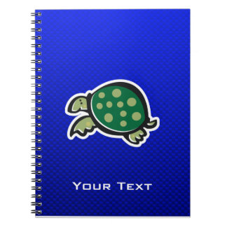 Cute Turtle; Blue Journals