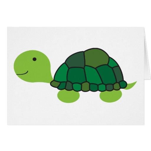 Cute Turtle Greeting Card
