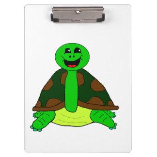 Cute turtle clipboard
