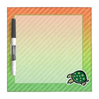Cute Turtle Design Dry-Erase Whiteboard