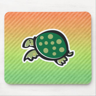 Cute Turtle Design Mouse Pad