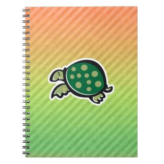 Cute Turtle Design Spiral Notebook