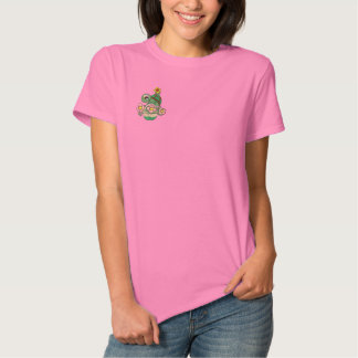 Cute Turtle Embroidered Shirt