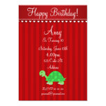 Cute turtle invitation