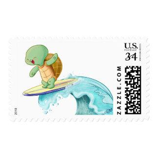 Cute Turtle Kawaii Medium Postage Stamp