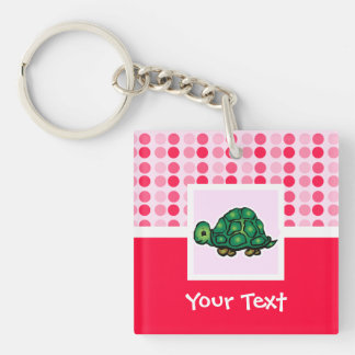 Cute Turtle Key Ring