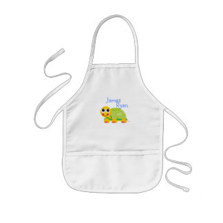 Cute Turtle Kids Apron