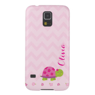 Cute Turtle Personalized Galaxy S5 Case