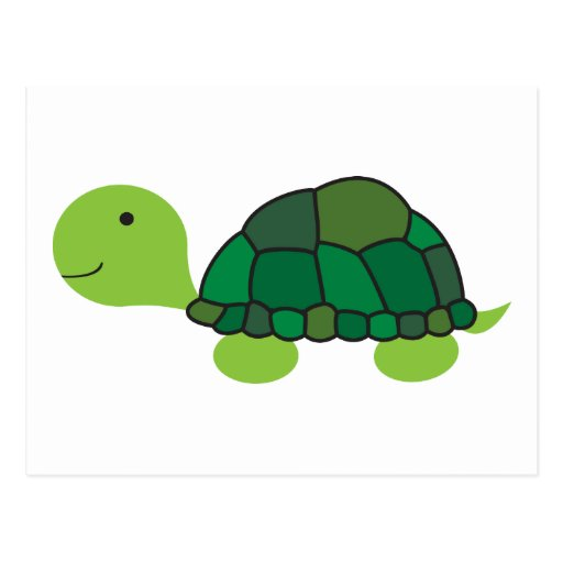 Cute Turtle Post Cards