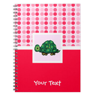 Cute Turtle Spiral Note Book