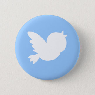 Cute Tweets 6 Cm Round Badge