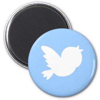 Cute Tweets 6 Cm Round Magnet