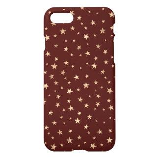 Cute Twinkle Stars Design iPhone 7 Case