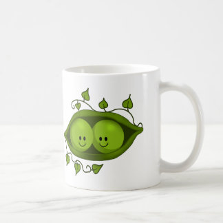 Cute Two Peas In A Pod Coffee Mug