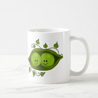Cute Two Peas In A Pod Coffee Mug