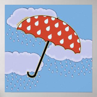 Cute Umbrella Posters