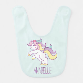 Cute Unicorn Bib