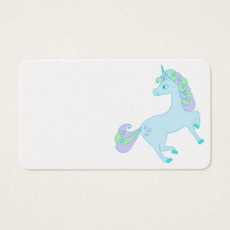 cute unicorn Business Card