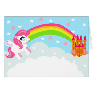 cute unicorn Card
