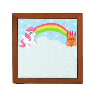 cute unicorn Desk Organiser