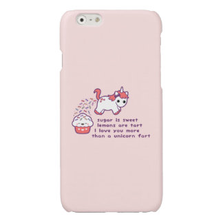 Cute Unicorn Fart iPhone 6 Plus Case