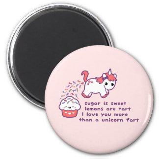 Cute Unicorn Fart Magnet
