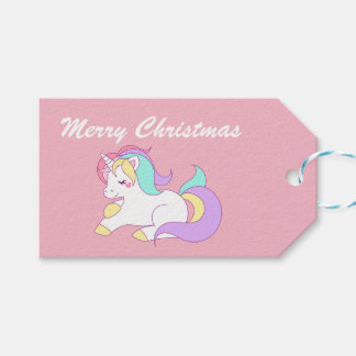 Cute Unicorn. Gift Tags