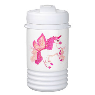 cute unicorn Igloo Half Gallon Beverage Cooler