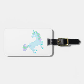 cute unicorn Luggage Tag