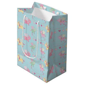 Cute unicorn medium gift bag