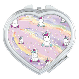 Cute unicorn mirror mirrors for makeup