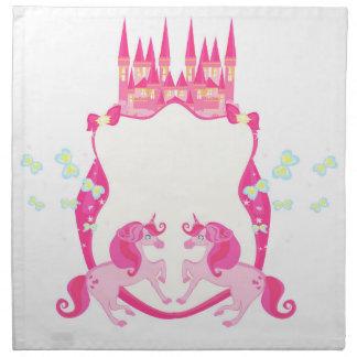cute unicorn napkin