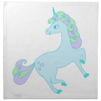 cute unicorn Napkins