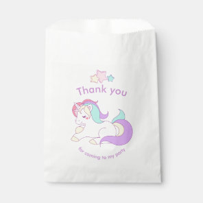 Cute Unicorn Party Bag