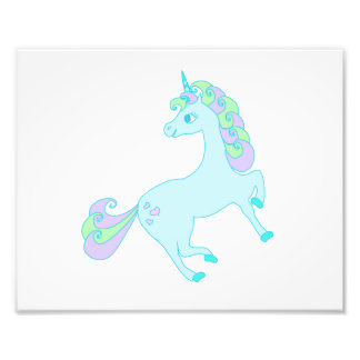 cute unicorn Photo Enlargement