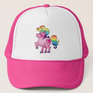 cute unicorn pony trucker hat