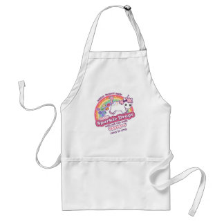 Cute Unicorn Poop Candy Standard Apron