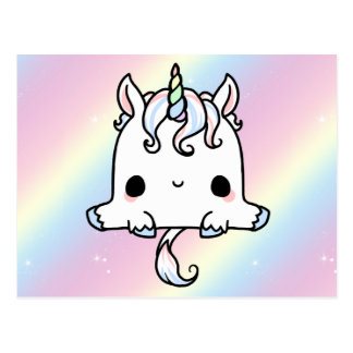 Cute Unicorn Post Card
